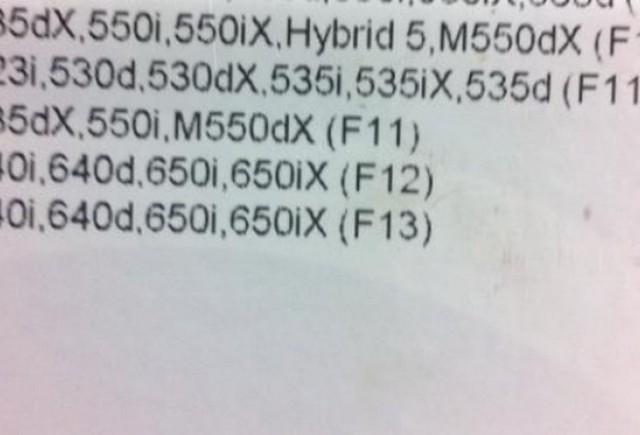 BMW face un M5 F10 diesel?