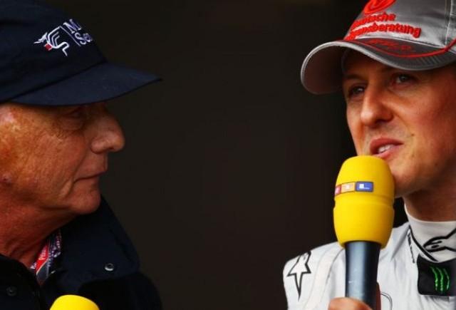 Lauda: Schumacher ar trebui sa se retraga