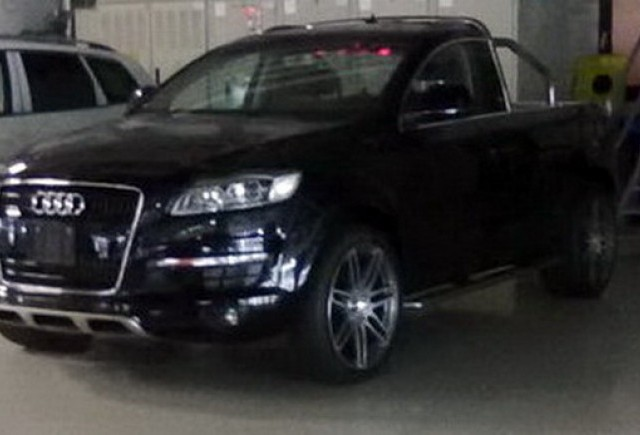 Camioneta Audi Q7 este reala