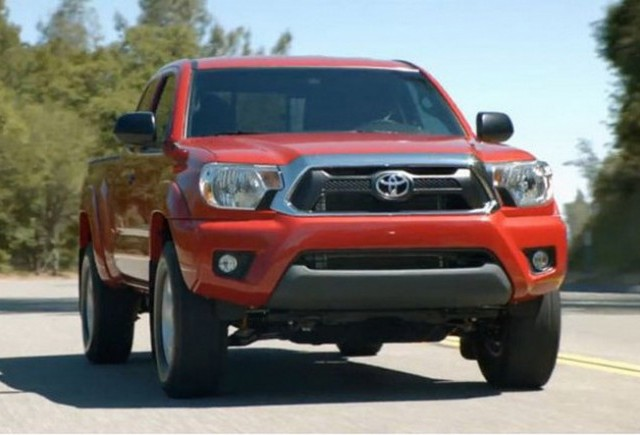 Toyota Tacoma Facelift in imagini