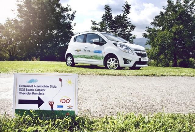 Chevrolet doneaza al patrulea autovehicul Organizatiei SOS Satele Copiilor Romania