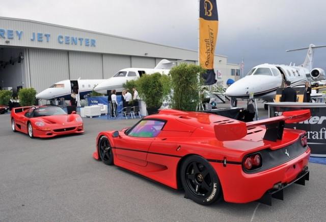 Ferrari F50 GT si Ferrari F50, poza la minut
