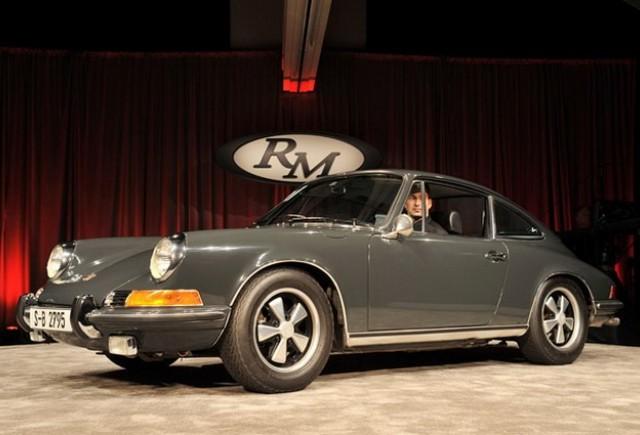 Steve McQueen Porsche 911 din 1970 la licitatie