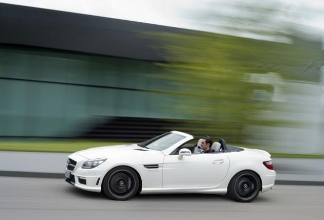 OFICIAL: Mercedes-Benz ne dezvaluie  SLK55 AMG
