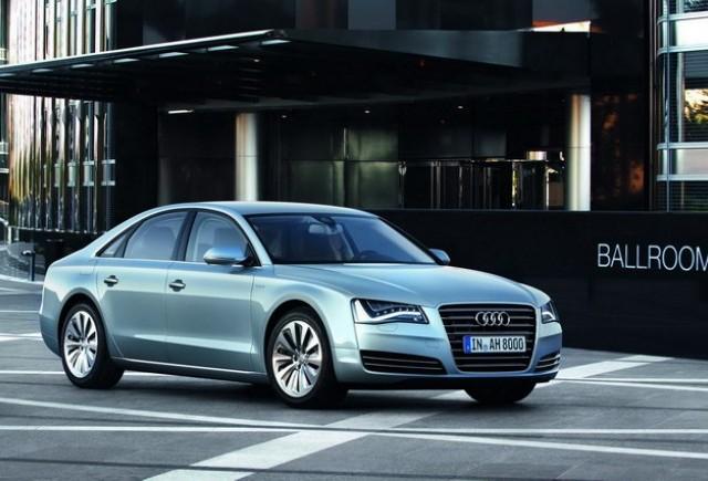 Audi A8 Hybrid se prezinta