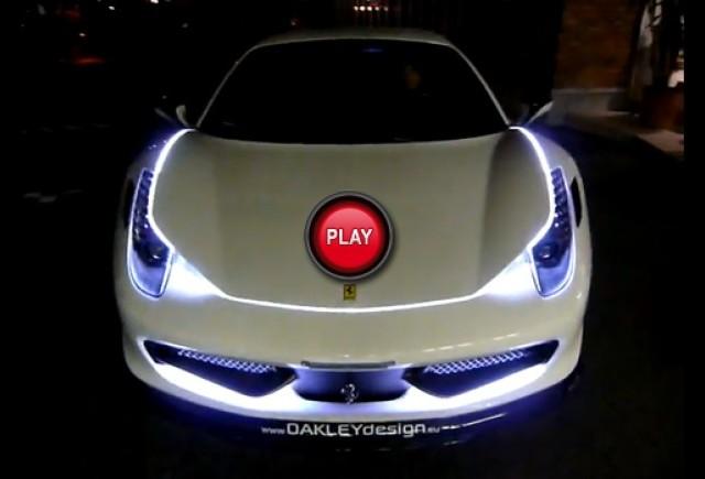 VIDEO: Cum sa faci un Ferrari 458 Italia sa arate groaznic