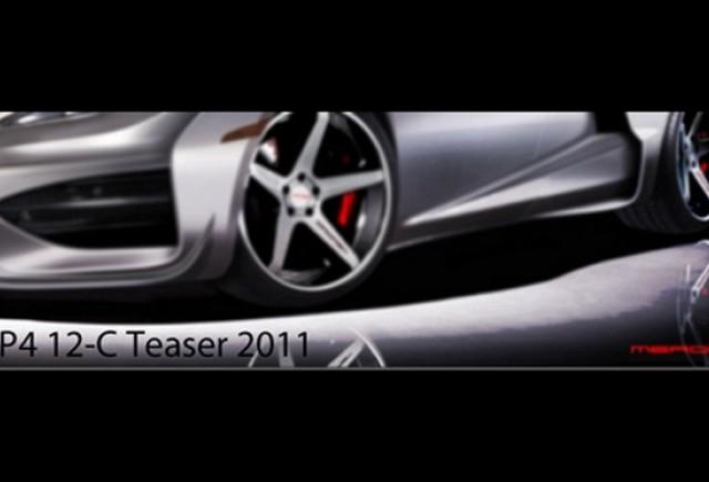 Teaser: McLaren MP4-12C Merdad