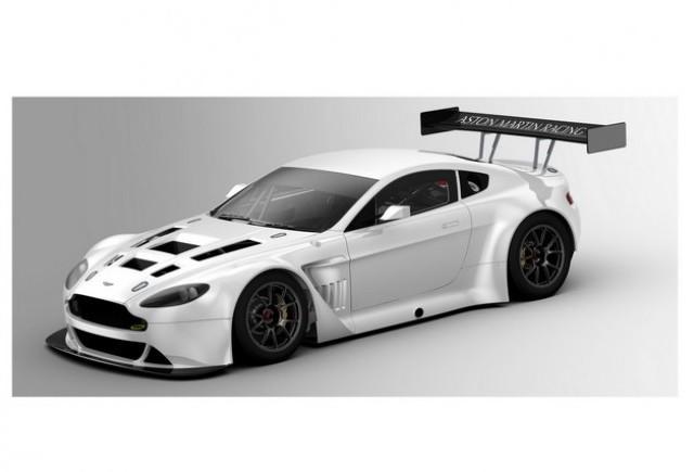 Noul Aston Martin V12 Vantage GT3 este gata pentru sezonul 2012