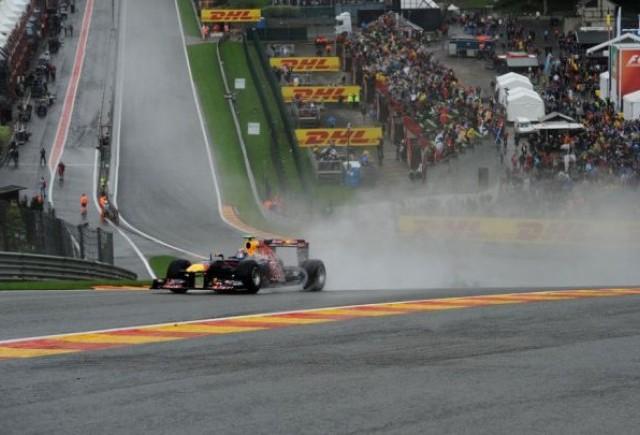 Webber, cel mai rapid pe ploaie inaintea calificarilor de la Spa