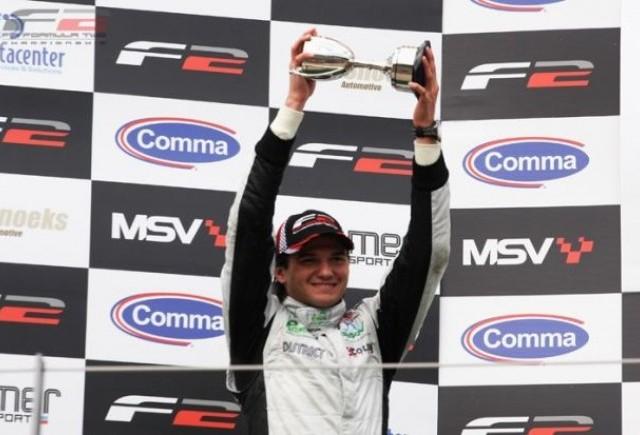 Mihai Marinescu, la al doilea podium consecutiv in Formula 2