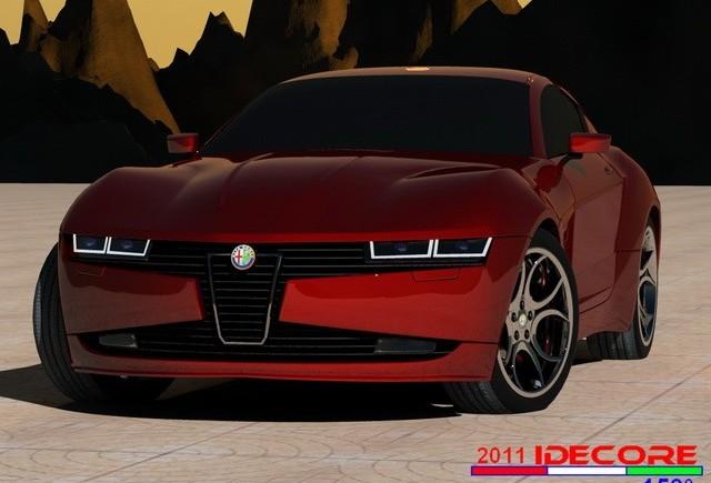 IDECORE prezinta noul Alfa Romeo Concept Minhoss