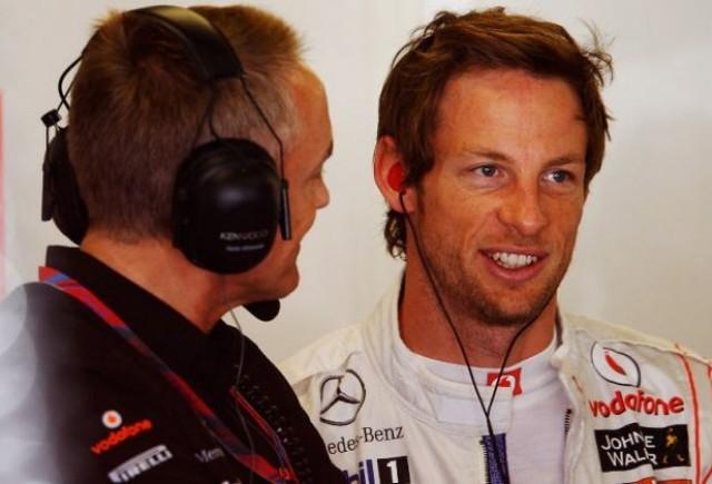 Button asteapta prelungirea contractului cu McLaren