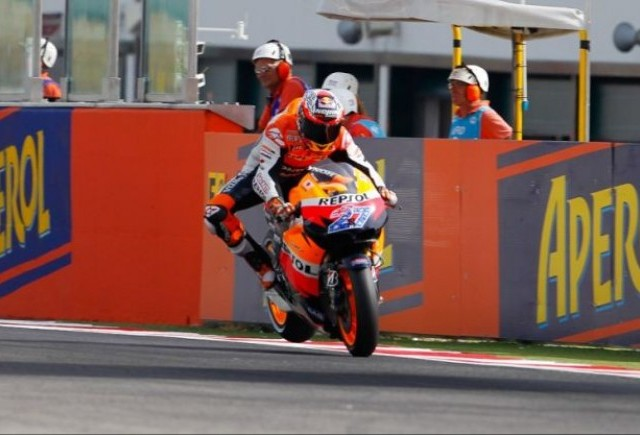 Stoner va pleca din pole-position in San Marino