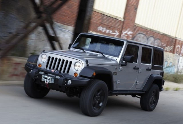 Jeep lanseaza Wrangler Special Edition