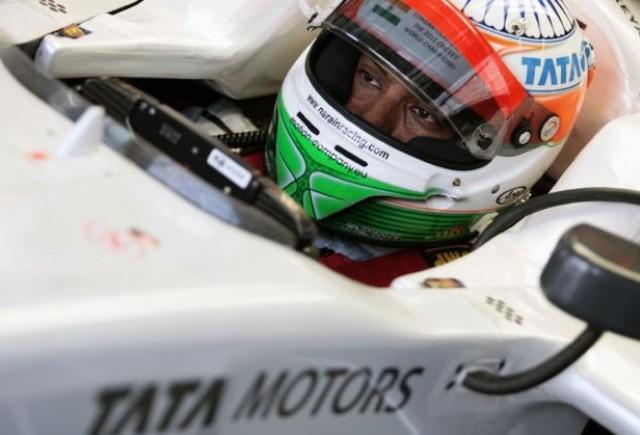 Karthikeyan va reveni in cursa de F1 din India