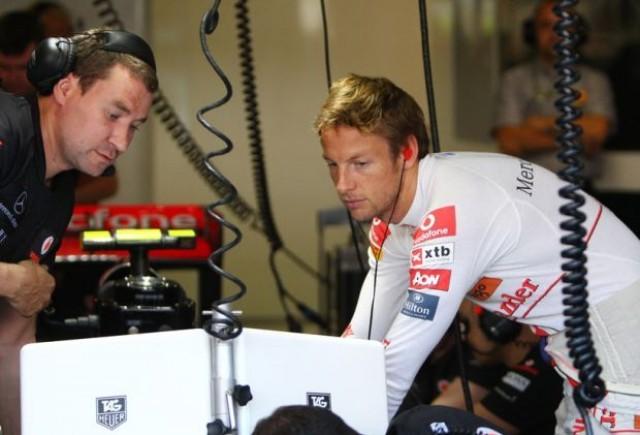 Button refuza prelungirea contractului cu McLaren