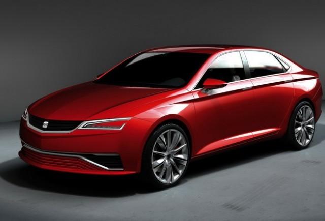 Frankfurt preview: Fotografii cu  Conceptul Seat IBL Sedan