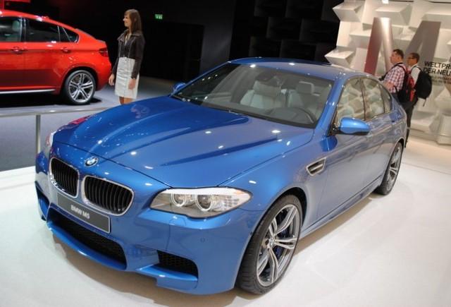 Premiera: BMW M5 la Frankfurt 2011