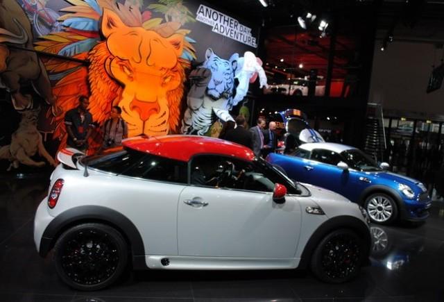 Premiera Frankfurt 2011: MINI Cooper Coupe
