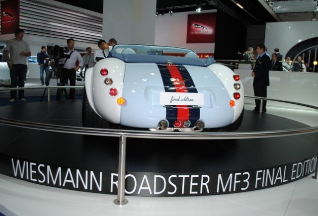 Premiera Frankfurt 2011: Wiesmann MF-3 Final Edition