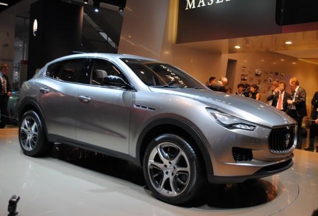Frankfurt Live: Maserati Kubang