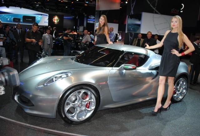 Frankfurt live: Alfa Romeo 4C