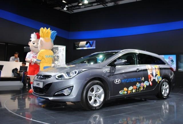 Frankfurt live: Hyundai i40