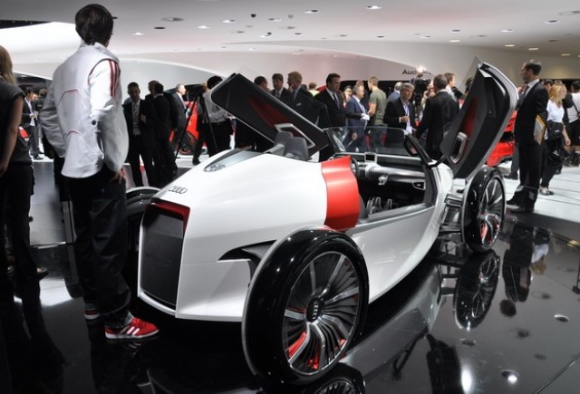 Frankfurt live: Audi Urban Concept