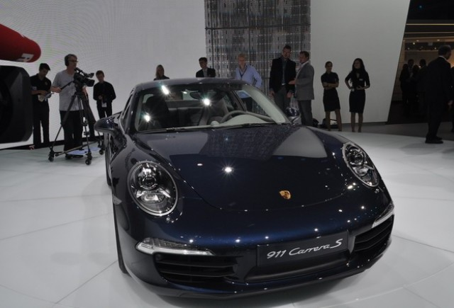 Frankfurt live: Porsche Carrera S