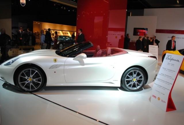 Frankfurt live: Standul Ferrari