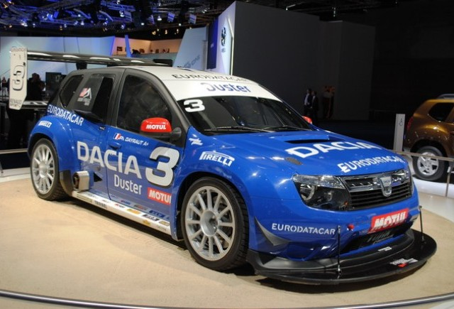 Frankfurt live: Dacia Duster No Limit