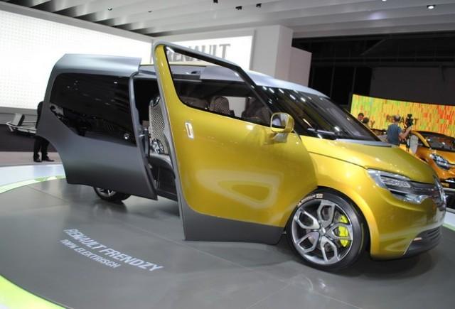 Frankfurt live: Renault Frendzy