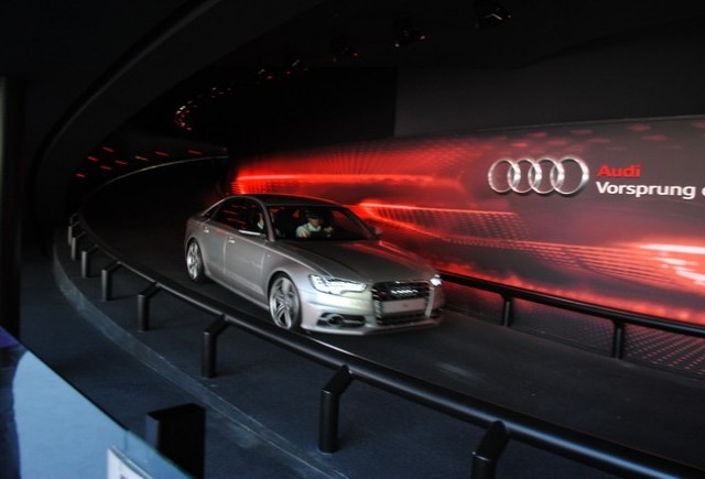 Frankfurt live: Pista de teste Audi