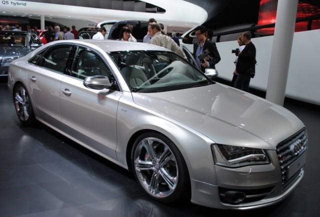 Frankfurt live: Audi S8