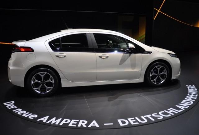 Frankfurt live: Standul Opel