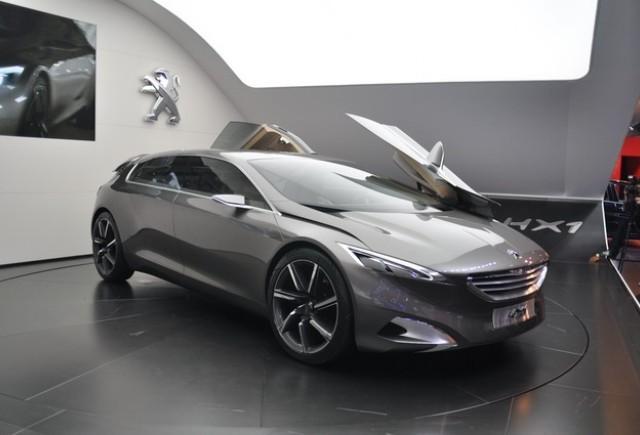 Frankfurt live: Peugeot HX1