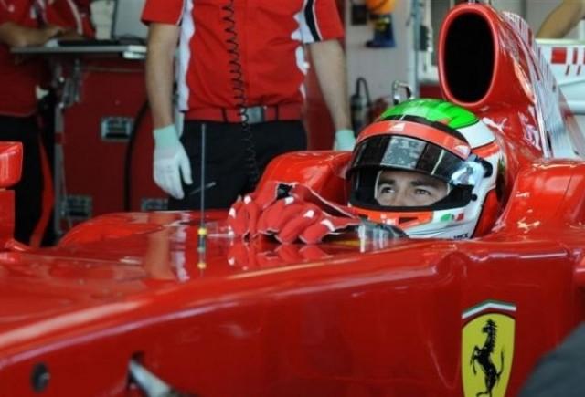 Perez a impresionat in primul sau test la Ferrari