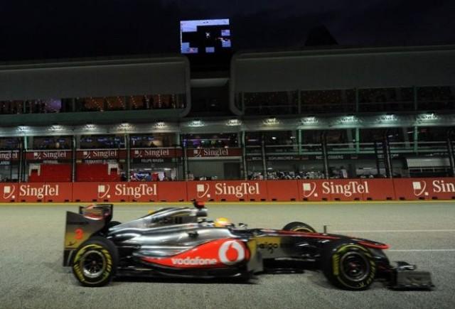 Hamilton, cel mai rapid in primele antrenamente din Singapore
