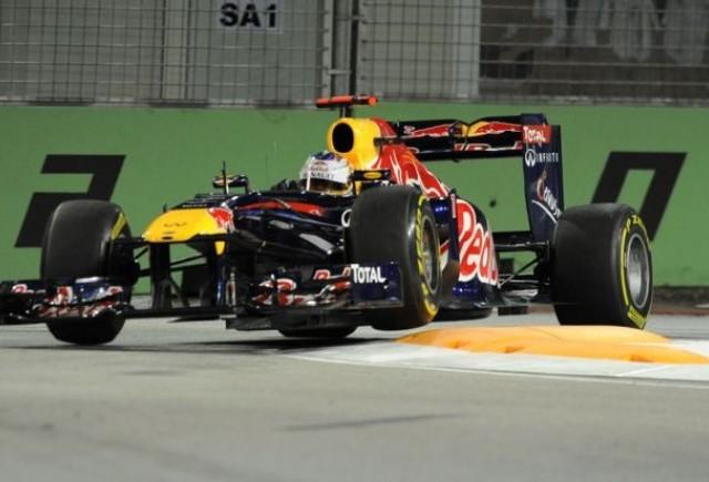 Vettel, cel mai rapid in sesiunea a doua de antrenamente din Singapore