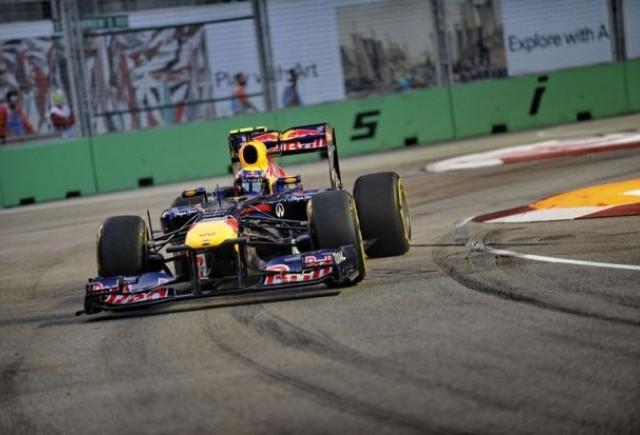 Webber, cel mai bun inaintea calificarilor din Singapore