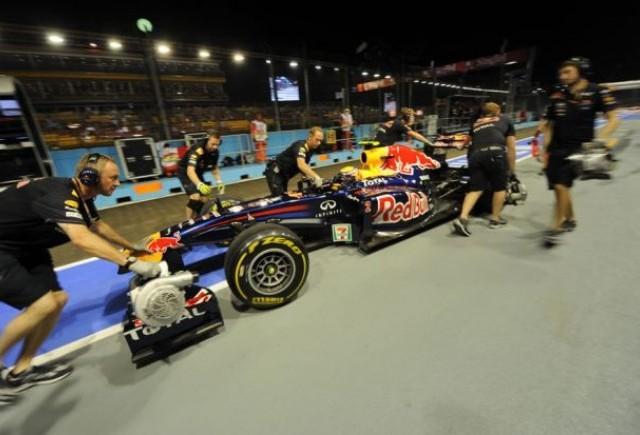 Webber asteapta un rezultat bun in cursa din Singapore