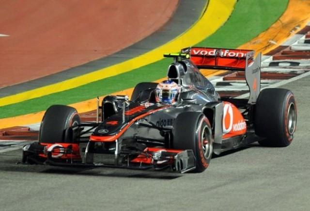 Button: Vettel a fost pur si simplu prea rapid
