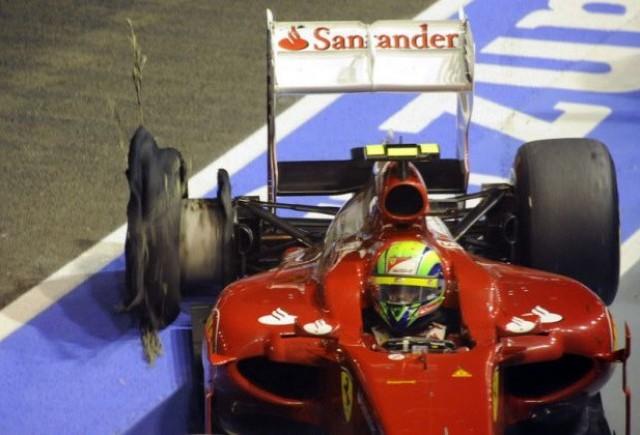 Massa: Hamilton nu si-a folosit capul din nou