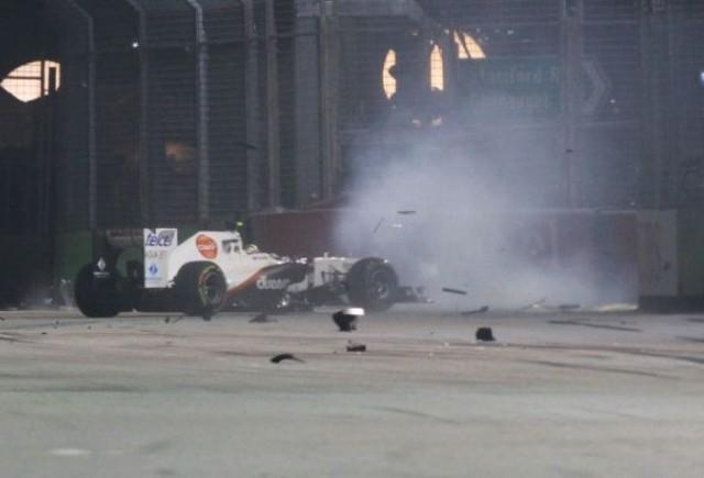 Schumacher, avertizat pentru incidentul cu Perez din Singapore