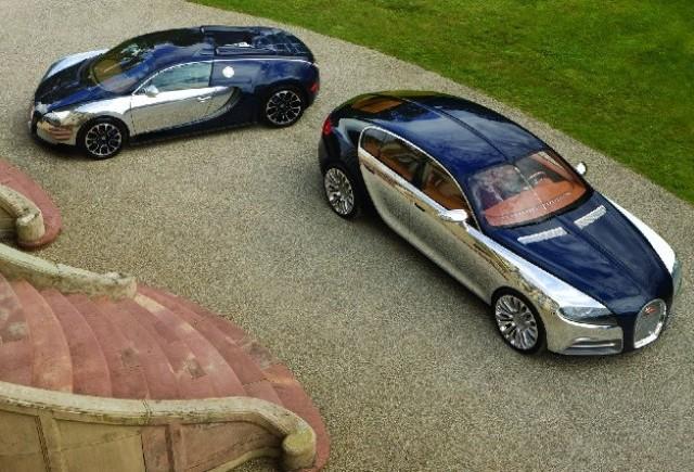 Bugatti  Galibier a fost modificat fata de concept