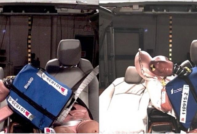 GM prezinta primul airbag frontal central din industria auto