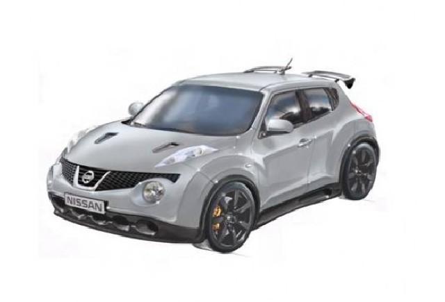 Nissan Juke-R, primul super-crossover de clasa mica