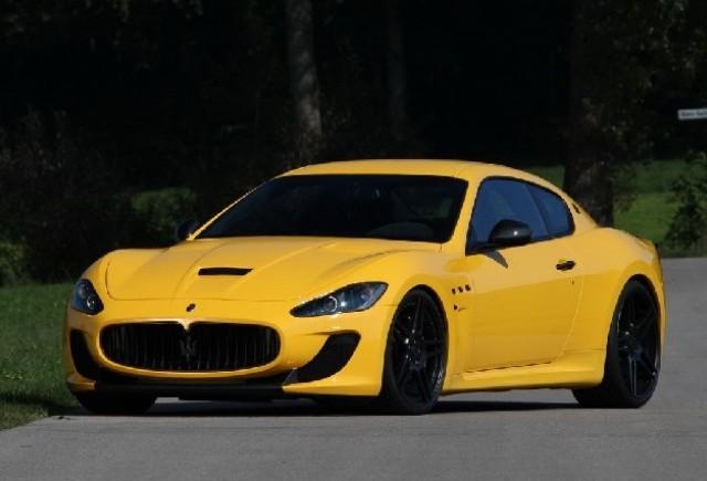 Novitec ridica puterea Maserati GranTurismo MC Stradale