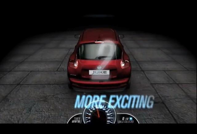 Nissan Europa lanseaza noul site 3D Juke