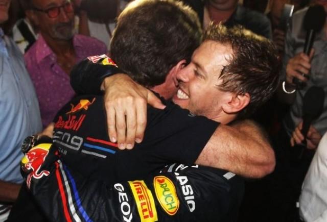 Schumacher: Sunt mandru de Vettel
